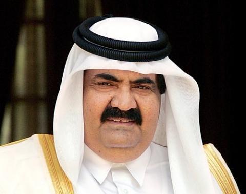 أمير قطر يبدأ زيارة إلى الجزائر