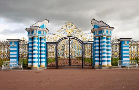 القصر الذهبي في روسيا