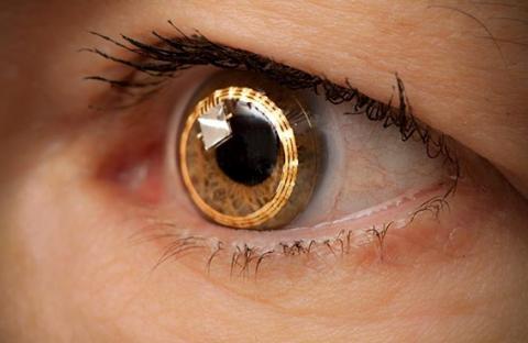 (سامسونغ) تتطور  عدسات لاصقة ذكية