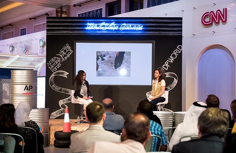 أسوشيتد برس تستعرض معوقات التغطية الإعلامية في المناطق الساخنة بمنتدى الإعلام العربي