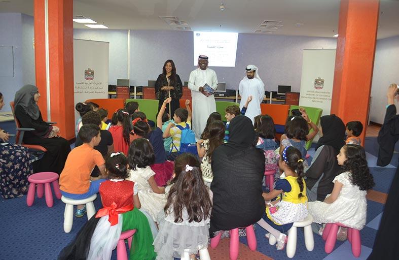 مبادرة «سرد القصة» تجتذب أكثر من 2000 من الناشئة وطلاب المدارس
