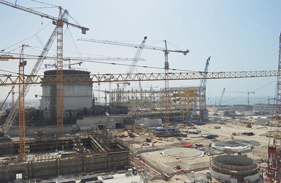 11 مليار درهم قيمة عقود الشركات المحلية العاملة في البرنامج النووي الإماراتي