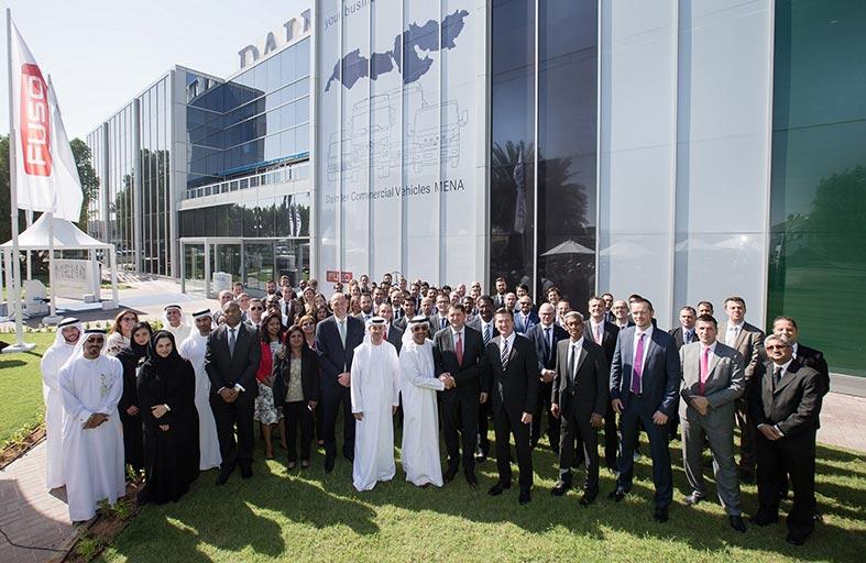 """أول مركز إقليمي لشركة """"دايملر للمركبات التجارية"""" يفتح أبوابه في دبي"""