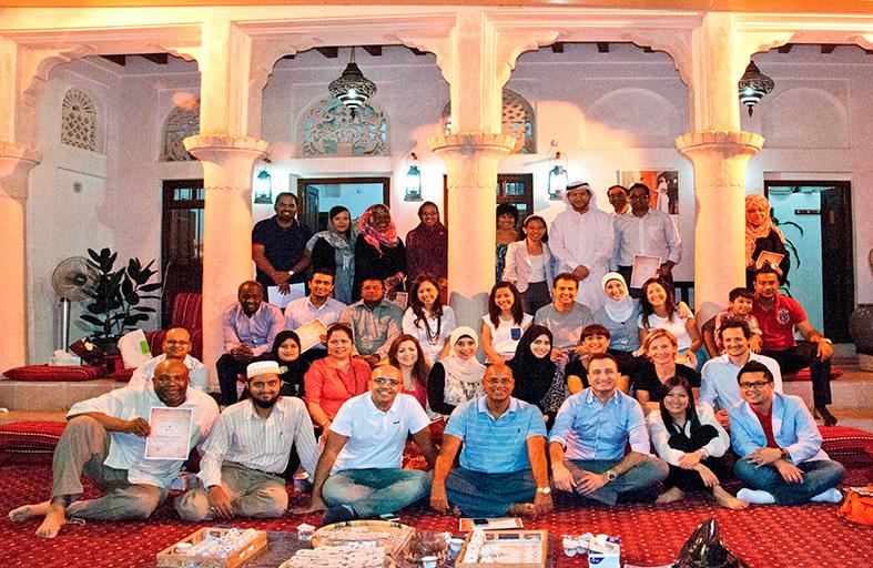 مركز الشيخ محمد بن راشد للتواصل الحضاري  يختتم فعاليات نادي اللغة العربية الأول