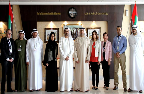 إسعاف دبي تبحث التعاون مع هيئة تنمية المجتمع