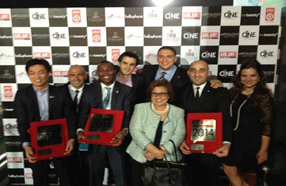 إنتركونتيننتال أبوظبي يحصل على ثلاث جوائز سياحية مرموقة