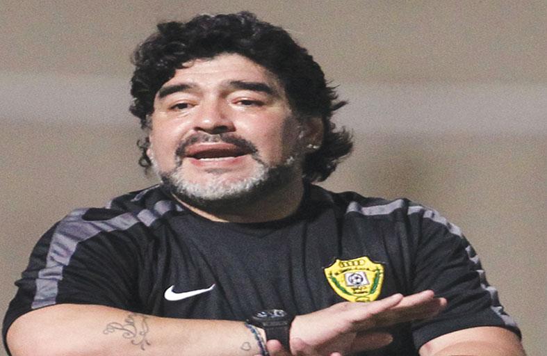 مارادونا: الحكام سيدفعون البرازيل للدور الثاني