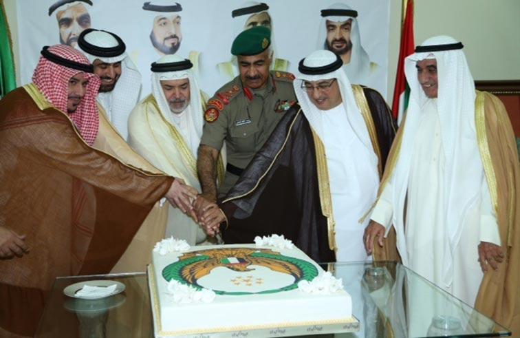 افتتاح مبنى الملحقية العسكرية للإمارات في الكويت
