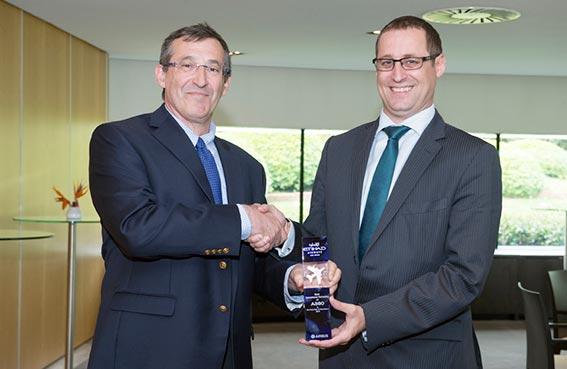 الاتحاد للطيران تنال جائزة أفضل  أداء للموثوقية التشغيلية من إيرباص