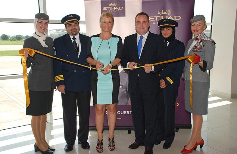 الاتحاد للطيران تُباشر خدماتها إلى بلغراد
