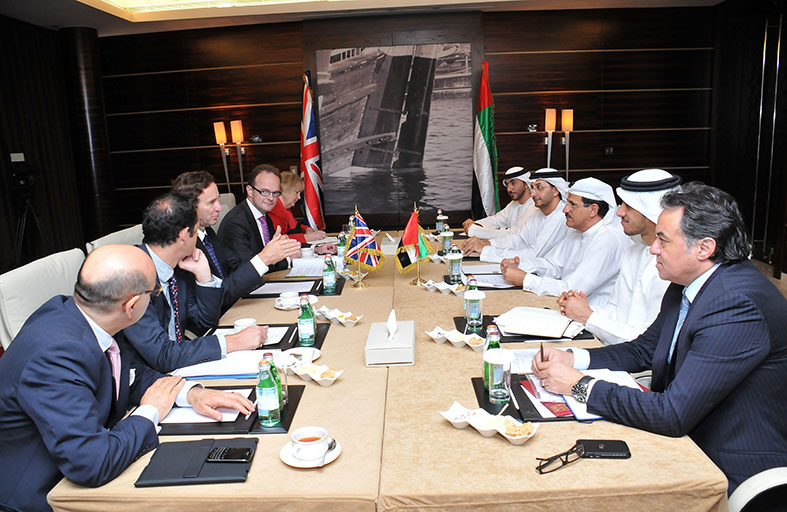 المنصوري: العلاقات الاقتصادية بين الإمارات وبريطانيا تشهد تطوراً مستمراً