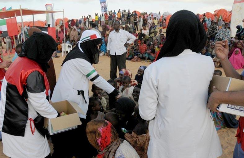 الرئيس التنفيذي لمبادرة زايد العطاء : أبوظبي عاصمة للعطاء الإنساني