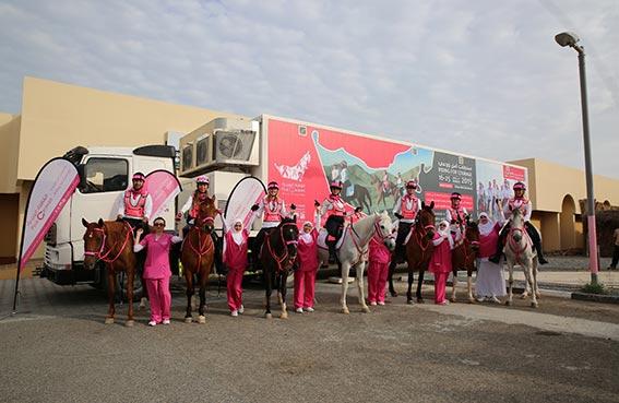 القافلة الوردية تدعو الأطباء والممرضين الإماراتيين للانضمام إلى مسيرتها السنوية السادسة
