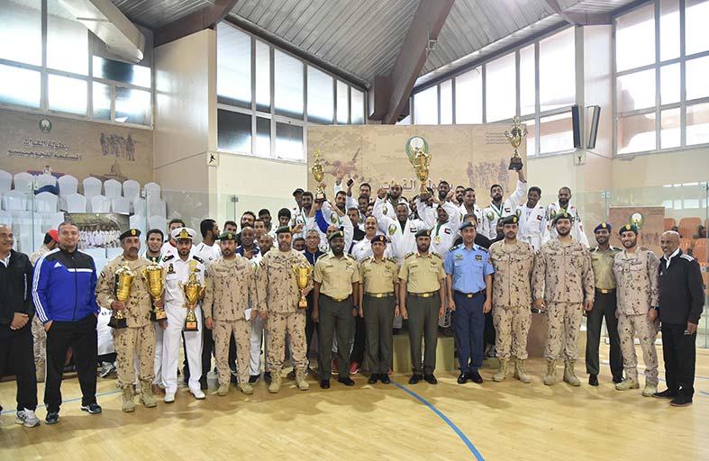 القوات البرية تسيطر على بطولة القوات المسلحة للجوجيتسو
