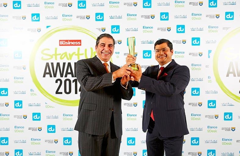 المشرق يفوز بجائزة أفضل بنك  للشركات الصغيرة والمتوسطة للعام 2014