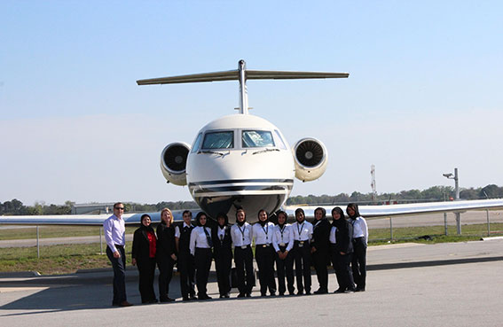 المهندسات الإماراتيات في الاتحاد للطيران يحضرن المؤتمر العالمي للسيدات في قطاع النقل الجوي