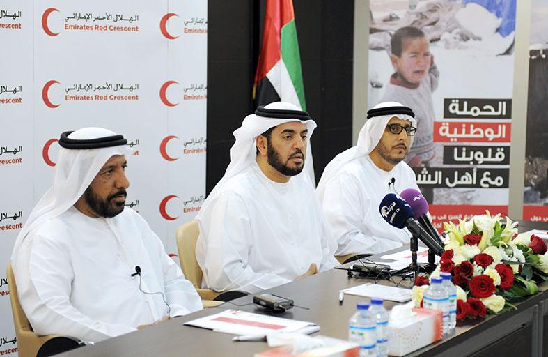 الهلال يدشن استعداداته لانطلاق حملته الإنسانية لإيصال المساعدات الفورية للاجئين السوريين في الأردن