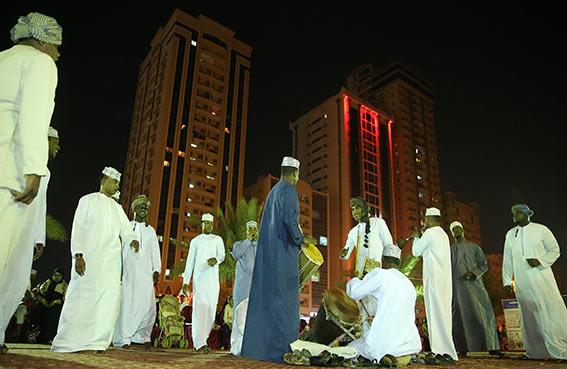 مهرجان رأس الخيمة التراثي الرابع يزدان تألقا في يومه الثاني