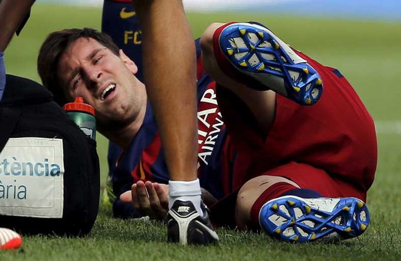 برشلونة يواجه ليفركوزن من دون ميسي