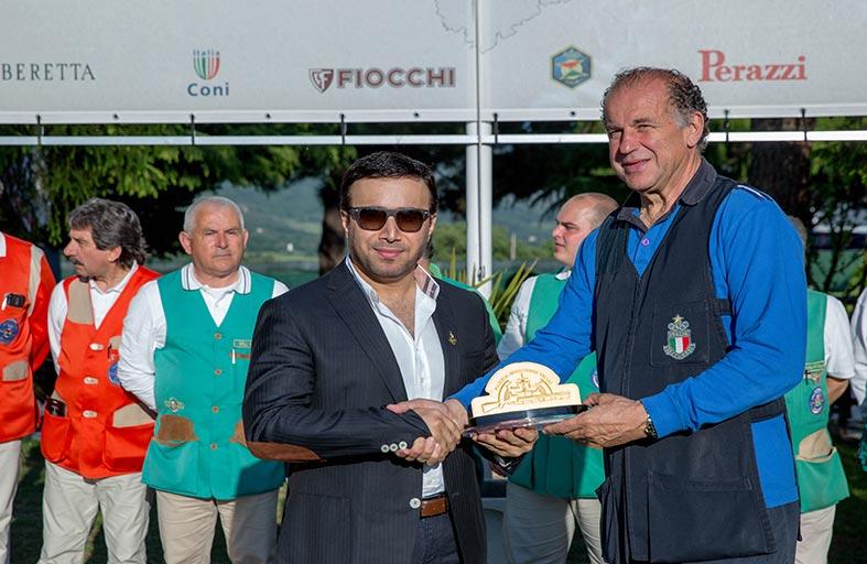 بطولة فزاع إيطاليا لرماية الأطباق تدعم رماة العالم