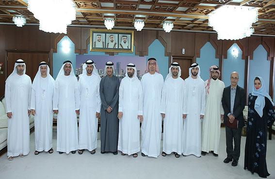 بلدية مدينة أبوظبي ووكالة الإمارات للفضاء تبحثان سبل تعزيز التعاون المشترك
