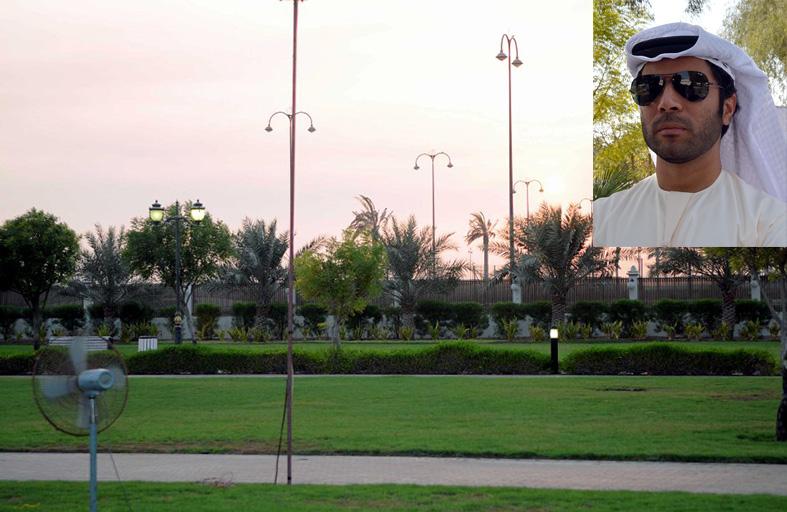 دائرة البلدية بعجمان للعام الثاني تحذر زوار الحدائق من التدخين واستخدام الشيشة فيها