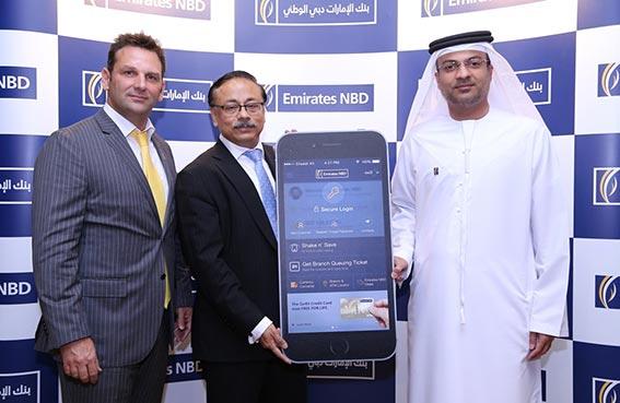 بنك الإمارات دبي الوطني أول مؤسسة مالية في الشرق الاوسط تطلق خدمة إيداع الشيكات عبر الأجهزة المتحركة