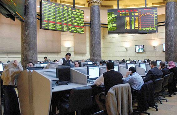 بورصة مصر تخسر 15.7 مليار جنيه خلال فبراير