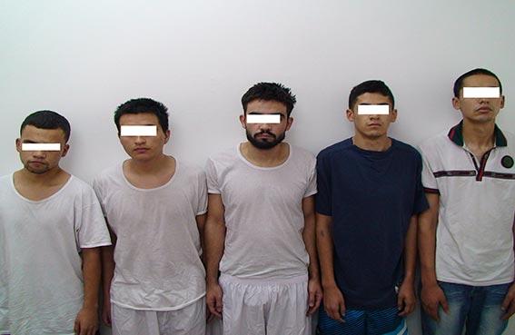 عصابة الخمس الكبار في قبضة شرطة دبي