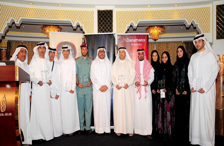 تكريم الفائزين بجائزة الشرق الأوسط الثالثة لتميز قيادات المستقبل
