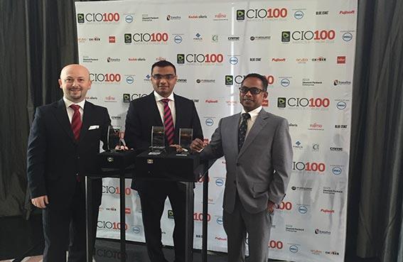 ثلاثة مسؤولين في تكنولوجيا المعلومات بفنادق كمبينسكي يفوزون بجوائز الإبداع التقني