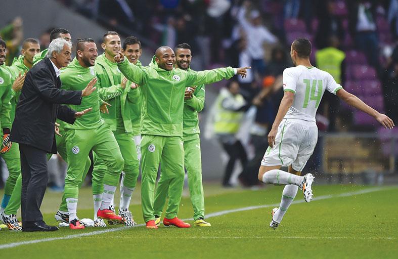 الجزائر تتطلع لبلوغ الدور الثاني في مونديال البرازيل