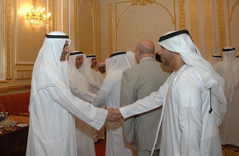 حاكم الفجيرة يستقبل قناصل الدول العربية والإسلامية والأجنبية