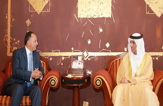 حاكم رأس الخيمة يستقبل قنصل عام الأردن