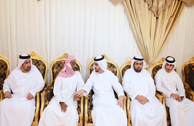 حمدان بن زايد: فقيدا الإمارات قدما روحيهما دفاعا عن الوطن