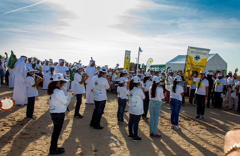 حملة نظفوا الإمارات في رحلتها الـ13 تنطلق من إمارة دبي