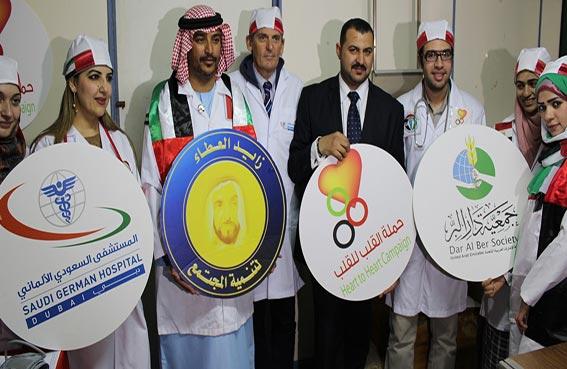 حملة القلب للقب تختتم مهامها الانسانية في القرى المصرية