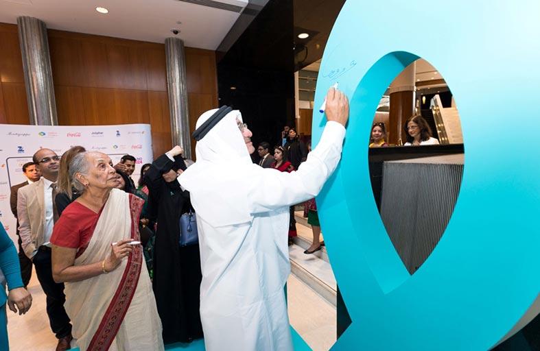 حميد القطامي يفتتح حملة التوعية الصحية بسرطان عنق الرحم في مستشفى زليخة