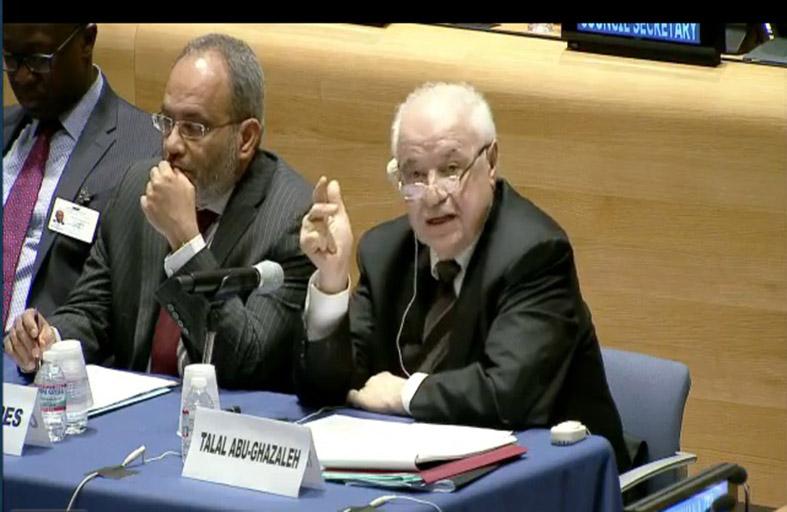 أبوغزاله عن قطاع الأعمال العالمي في الجلسة الوزارية: التنمية المستدامة والتوظيف يدعمان بعضهما