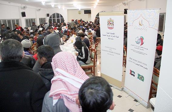خليفة الإنسانية تنفذ مشروع إفطار صائم في مساجد ساو باولو البرازيلية