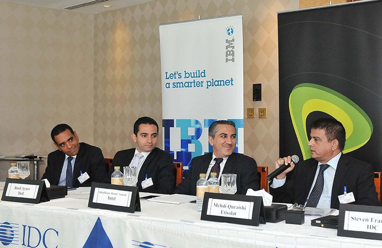 اتصالات شريك الدورة السابعة لقمة IDC السنوية للمدراء التنفيذيين للمعلومات