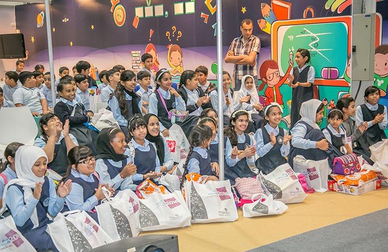 ركن الإبداع: مساحة مصممة حصرياً للأطفال في  معرض أبوظبي الدولي للكتاب 2016
