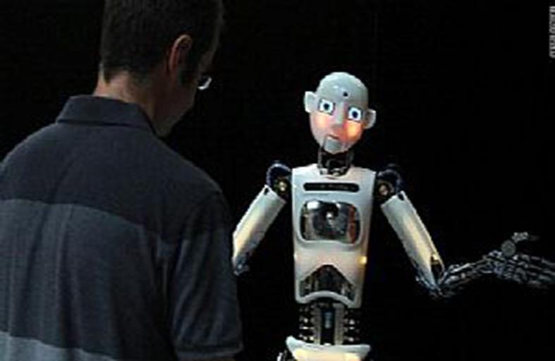روبوت للعناية بالمسنين