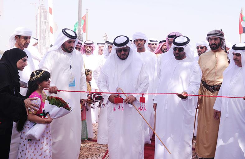 سلطان بن زايد يفتتح المهرجان التراثي البحرى