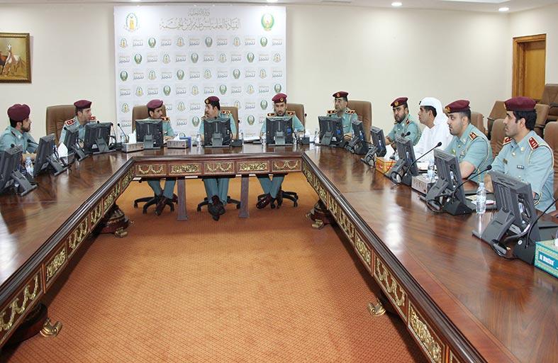 شرطة رأس الخيمة تشرح قانون الأنظمة والتقنية لأمن المنشآت