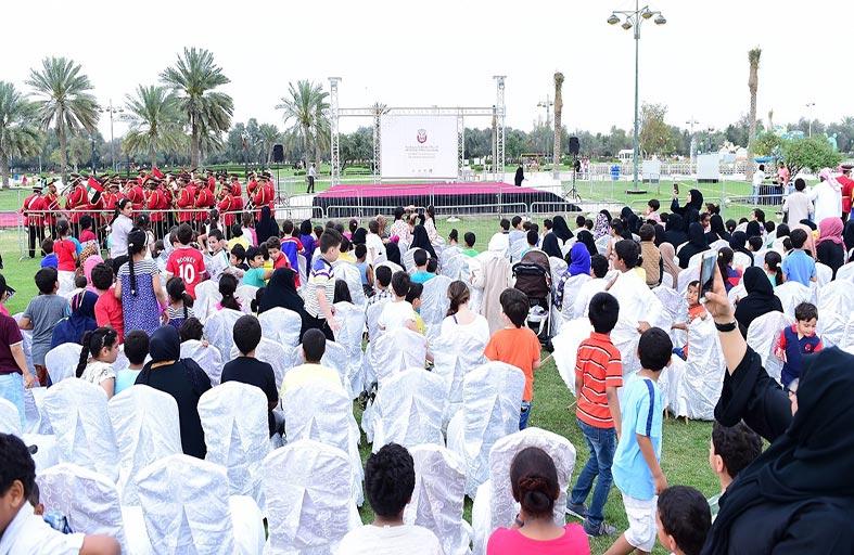 بلدية مدينة أبوظبي تنظم فعالية لإسعاد السكان والترفيه عنهم وتوعيتهم حول حماية المرافق العامة