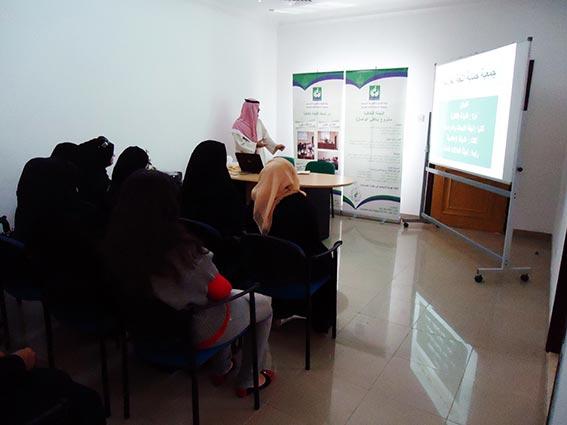 طالبات جامعة عجمان يزرن جمعية حماية اللغة العربية بالشارقة