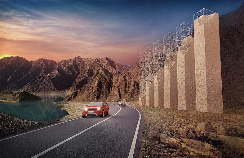 طرق دبي ترسي عقد مشروع بوابة حتا ضمن الخطة التنموية لتطوير المنطقة
