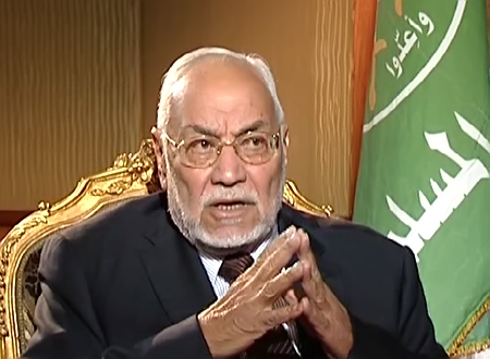 إحالة مرشد الإخوان السابق إلى محكمة الجنايات