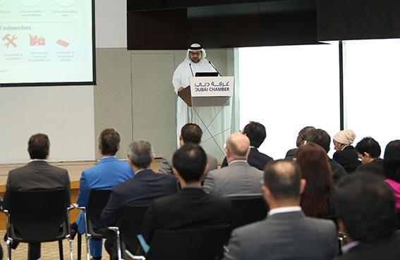 غرفة دبي تنظم لقاء الأعمال حول قطاع العقارات والبناء